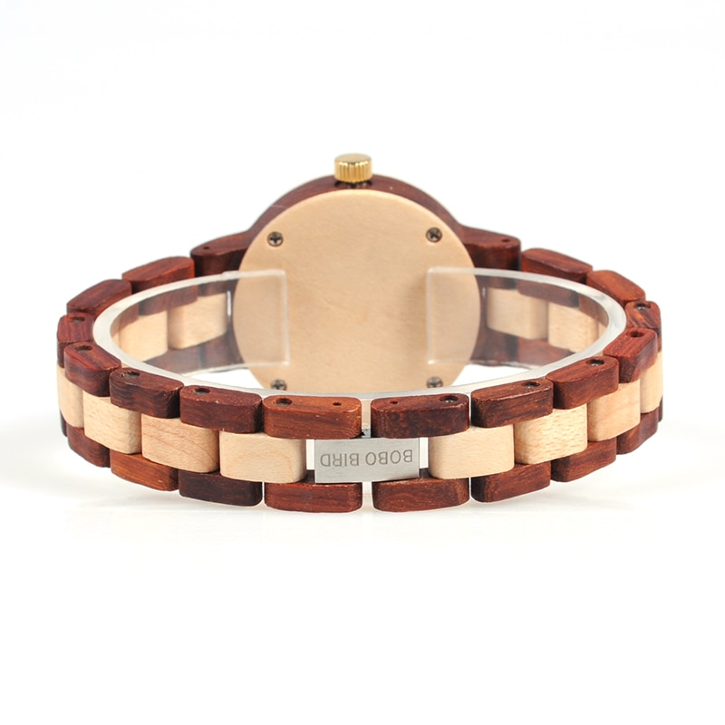 Wooden Women's Wristwatch